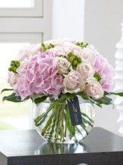 Luxury Pretty Pink Vase