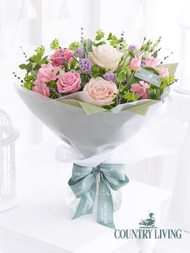 Country Living Heavenly Pastels Hand-Tied