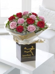 Mixed Rose Hand-tied