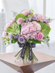 Luxury Rose and Hydrangea Hand-tied