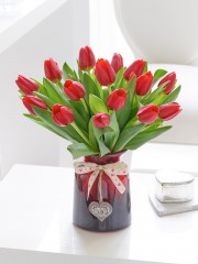 Perfect Love Tulip Vase