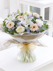 Soft Pastels Scented Sympathy Hand-Tied