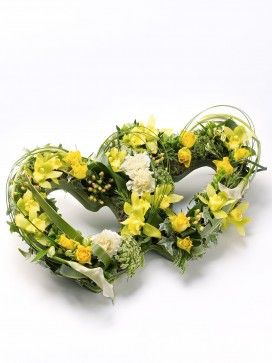 Double Heart Tribute - Yellow