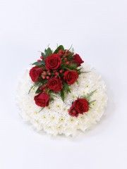 Red and White Posy