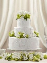 Pure Elegance Cake Decoration