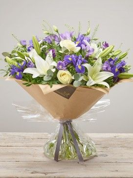 Purple Comfort Hand-tied