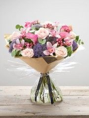 Calla & Orchid Blush Hand-tied