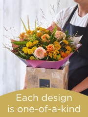 Autumn Hand-tied Bouquet £40