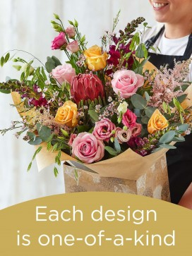 Hand-tied Bouquet £80