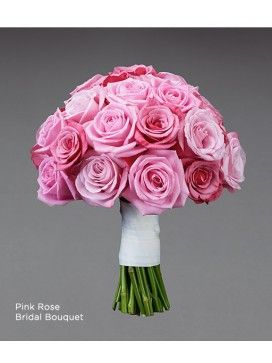 Pink and Rose Bridal Bouquet