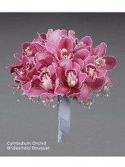 Cymbidium Orchid Bridesmaid Bouquet