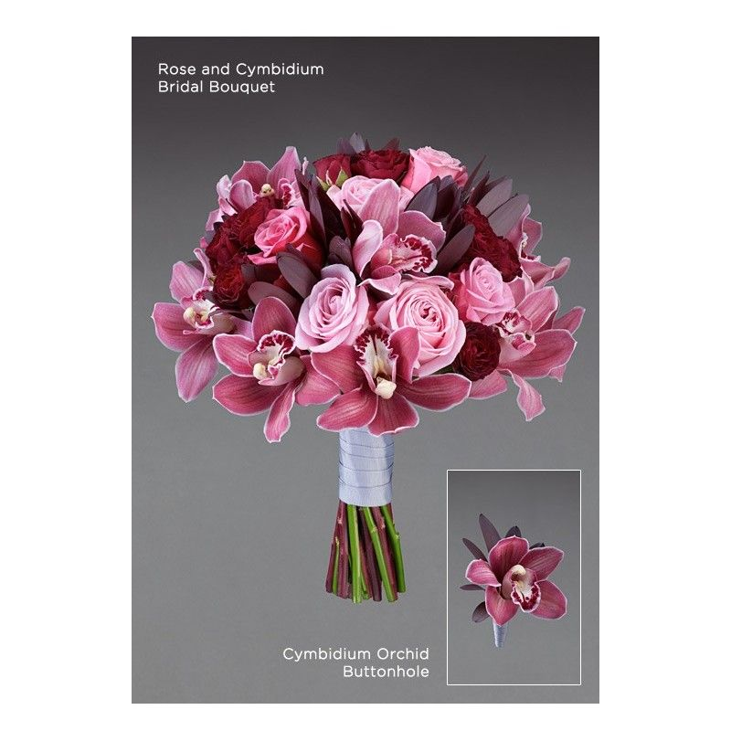 Aberdeen Wedding Flowers Chicago : Cymbidium orchid buttonhole aberdeen flowers